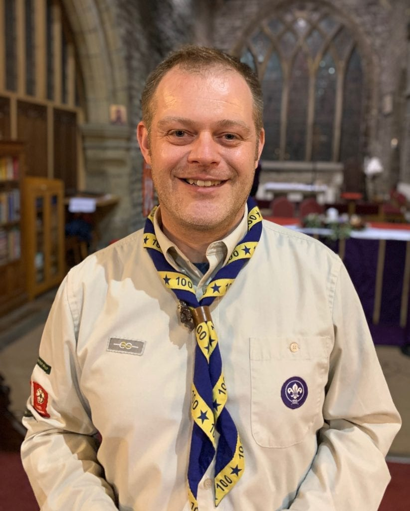 Rob Robinson - Penistone Scouts' Group Scout Leader